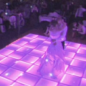 Soft Pink Wedding Floor
