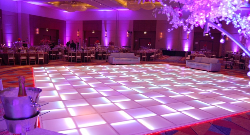 Hawaii's Only LED Dance Floors